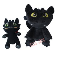 Wholesale Foreign toys agon How to Train Your Dragon Night Fury toothless toothless Aberdeen Aberdeen doll plush toys cm