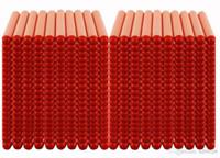 nerf darts - of PC NERF N Strike Darts set for Hasbro Child Gun Toys foam Bullet darts