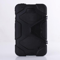Wholesale For Samsung Tablet Galaxy Tab inch T230 T231Case Cover Heavy Duty Rugged Impact Hybrid Case with Kickstand Protective Cover