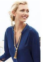 bianca necklace - S J D BIANCA TASSEL NECKLACE min order