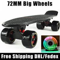big cruiser - board for sale original complete Skateboard griptape Retro Mini Skate long board cruiser longboard mm big wheels