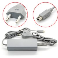 Wholesale 4 V A AC Power Supply Adapter Charger Cable for Nintendo WiiU Wii U Console Gamepad V AC Chargers Adapter Game