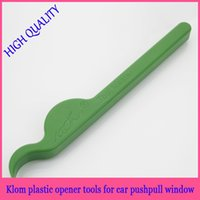 Wholesale KLOM green Airwedge Crow Bar Locksmith Tool Car door Opener Lock Pick Cutter Lock Pick Gun