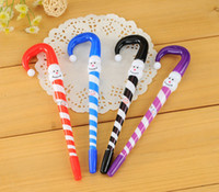 Wholesale 2015 new Christmas snowman ballpoint pen cute umbrella advertising pen stationery student gift