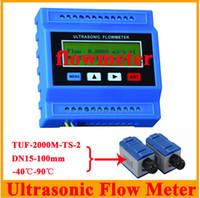 Wholesale TUF M TS DN15 mm Small Size Transducer Sensor Ultrasonic Flow Meter Flowmeter Modular