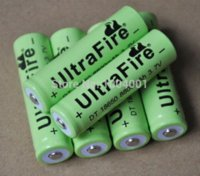 Wholesale 10 OFF Ultrafire V MAH Li ion rechargeable battery cell lithium ion batteries for led flashlight