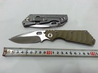 Wholesale STRIDER Cellular Tactical knife outdoor camping knife G10 stainless steel handle waveform desert color