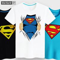 Cheap 6 Colors Man Spoof T-shirt Mens T Shirts Fashion 2015 Superman Camisa Masculina Men Tshirts Cotton 5xl Big Size Novelty T-shirts t-shirt men