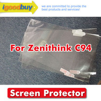 Wholesale New original brand Zenithink C94 mm clear screen Protector protective film for tablets