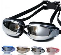 Wholesale Myopia swimming goggles Professional Anti Fog UV Swim Glasses Coating goggles For Men Women And Fashion Sports Children Swim Eyeglasses