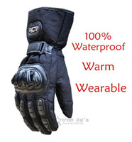 Wholesale Motorcycle Gloves Winter Warm Waterproof Windproof Protective Gloves Waterproof Guantes Luvas gloves for food industry A5