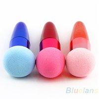 Wholesale Colorful Makeup Brushes Set Liquid Cream Foundation Sponge Brush Cosmetic Puff F J3