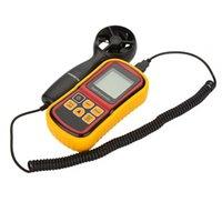 Wholesale GM8901 m s High Accuracy Anemometro LCD Display Digital Anemometer Wind Meter Air Velocity Temperature Meter