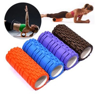 yoga ball exercise ball - 33x14cm EVA Yoga Gym Pilates Fitness Exercise Foam Roller Massage Training Trigger Point