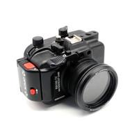 aluminium underwater housing - Aluminium M ft underwater waterproof camera case housing for Sony RX100 IV