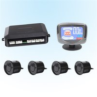 Wholesale Car LCD Parking Sensor Kit Sensors Sound Alert Indicator mm V Reverse Assistance Monitor System SCYF0637