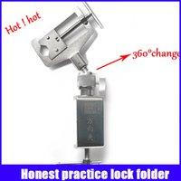 auto folder - Honest practice folder tool Refined steel degree rotation professional locksmith supplies lock picks fast ship