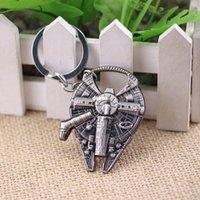 Wholesale Quantum Mechanix Star Wars Millennium Falcon Replica keychain bottle opener