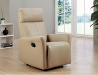 Wholesale 2015 newest recliner chair lazy leisures sofa in genuine leather China manufacturer DQ B5602