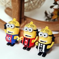 Wholesale Gift USB Flash Drive minions Memory Drive GB PVC Usb Stick models mix