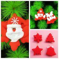 Wholesale Cheap Xmas Trees - Top Cheap Christmas Tree Christmas Gift Xmas Decorations Snowman Santa Milu Christmas Hanging Baubles XMAS Tree Ornament Christmas Suppliers