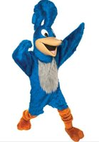 Wholesale fast shipping Roadrunner Mascot Costume christmas halloween dress clothes party fancy character adult size