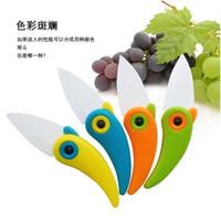gadgets - Mini cute bird fruit ceramic knife foldable SGS fruit knife multicolor fashion innovation Kitchen vegetable fruit gadget