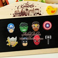 Wholesale 1000PCS Avengers Super Heros Starwars Minions Thomos Engine Toy Story Plants Vs Zombies Fridge Magnet Blackboard Sticker Gifts
