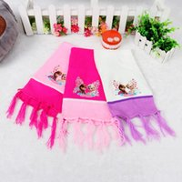 Wholesale 2014 New winter scarves children s Frozen winter scarf children scarf Cotton Flax COLORS
