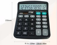 desktop calculator - New Solar Power And Batter Powered Desk Desktop Jumbo Large Buttons Digit Calculator Battery Calculator