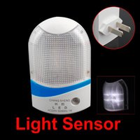 ac cu - Cu White Light Control AC Powered Wall Plug in LED Night Light Automatic Sensor