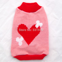 Others big dog sweater - Pet Dog sweater Coat Jacket Cat Puppy warm clothes big heart amp bone design sizes available