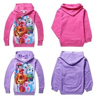 Wholesale 2016 Puppy Paw Kids Hoodies Top Quality Long Sleeve Hoodied T shirts Colors Dog Patrol Girls Sweatshirt Kids Spring Autumn Casual Clothes