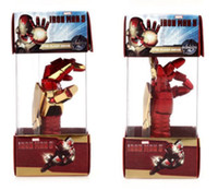 High Speed avengers usb flash drive - AVENGERS LED IRON MAN Hand Model USB gb USB flash Memory Pen Drive Stick Retail Packaging