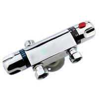 Wholesale luxury temperature mixing valve thermostatic mixing valve thermostatic mixer shower tap quot Brass thermostatic valve