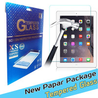 Wholesale For iPad Mini iPad Air Tempered Glass Screen Protecter Screen Guard for Ipad with h Hardness Ultra thin