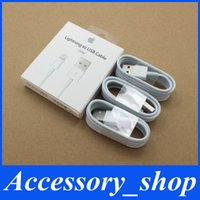 Wholesale 1M Ft MFi Pin Pin Lightning to USB Cable Sync Data Cords Charger Line with Retail BOX for iPhone s s Plus s Plus IOS