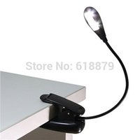 amazon power supply - Battery or USB Power Supply Clip On eBook Book Reading LED Desk Lamp Book Lights For Amazon Kindle Laptop Notebook