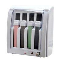 wax warmer - 6pcs Pro Epilator Roll On Depilatory Wax Heater Machine Cartridge Hot Warmer Hair Removal Body Beauty Wholesales E0386X