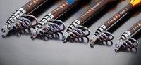 fishing rod guide - Telescopic Fishing Rod Fishing Rods Long Shot Hard Sea Pole Spinning Reel Set Carbon Combo Set Carp Anti Bite Line Colorful Guide Ring