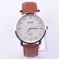 Wholesale Watches for men and women new counter genuine leather belt fashion wild ladies watch watches relojes men luxury brand watches