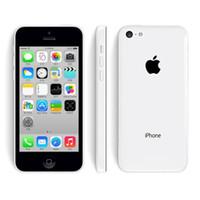 Wholesale 100 Original Refurbished Unlocked Apple iPhone C Cell Phones GB GB Dual Core WCDMA WiFi GPS MP Camera quot Mobile Phone DHL