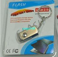 Wholesale 32GB GB GB GB Swivel metal Key Chain Generic Waterproof colloid chip spin metal Customized Logo Service memory Pendrives