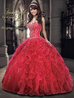 aurora prom dresses - 2015 Inspired By Sleeping Beauty Aurora Quinceanera Ball Gowns Dresses Rhinestone Beads Embroidery Sweetheart Piping Organza Prom Gowns