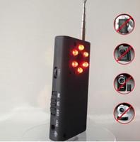 Wholesale Multi Function Full Range Detector For Hidden Spy Camera Bug RF Singal Finder CC308