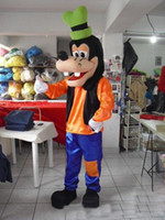 goofy costume - 2015 Deluxe Goofy Dog Mascot Costume Fancy Party Dress Suit ghng87