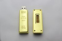 gold bars - For Sale GB Gold Bar USB Flash Drive disk memory stick Pendrives thumbdrives X50