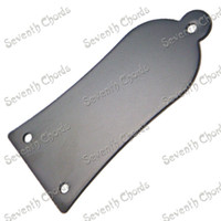 bass hole - 10 Black Metal Hole Truss Rod Cover Plate For Acoustic Electric Bass Guitar JS K BK