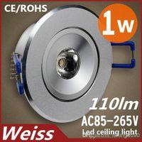 1w - CREE W Led Spotlight Fixture Led Mini Ceiling Cold white Warm white AC85 V Years Warranty Aluminum