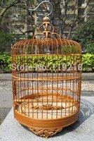 bamboo birdcages - CM CM CM Hibiscus parrots white eye bamboo decorative birdcage